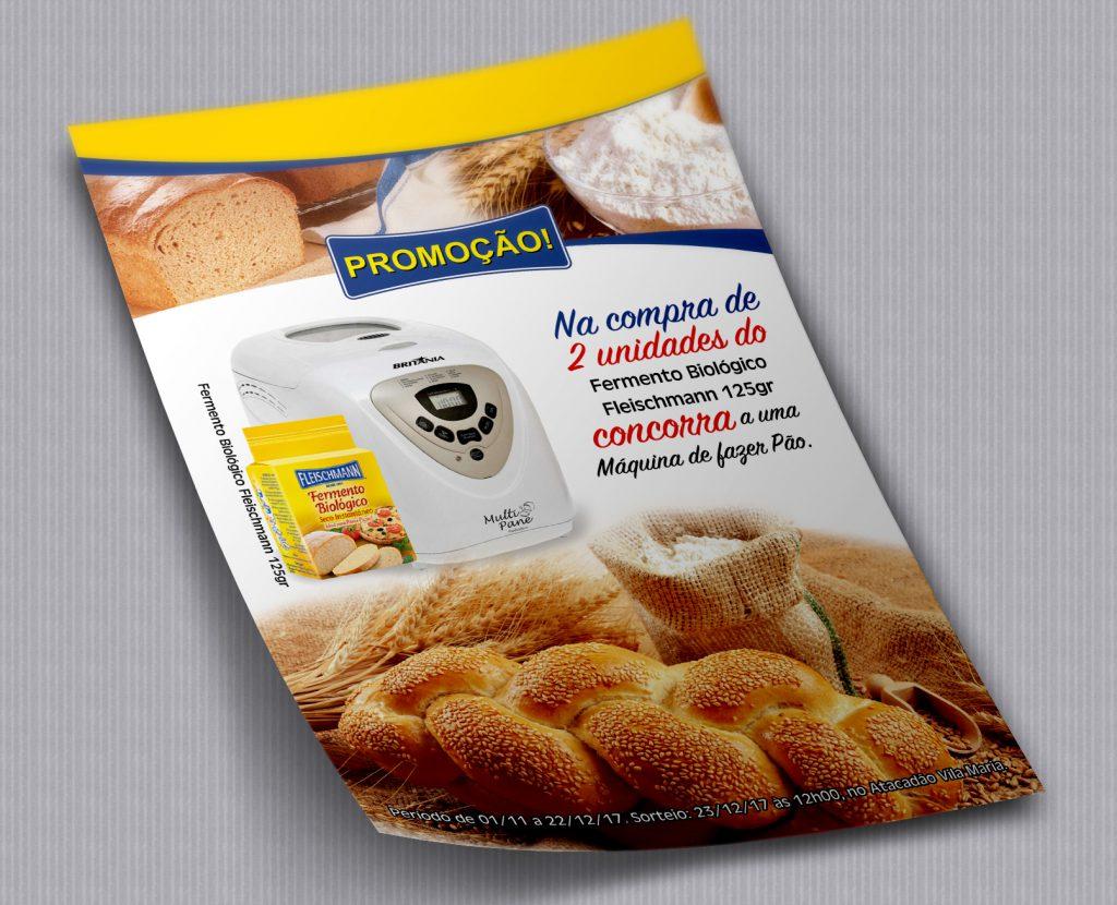 Panfletos para ações promocionais