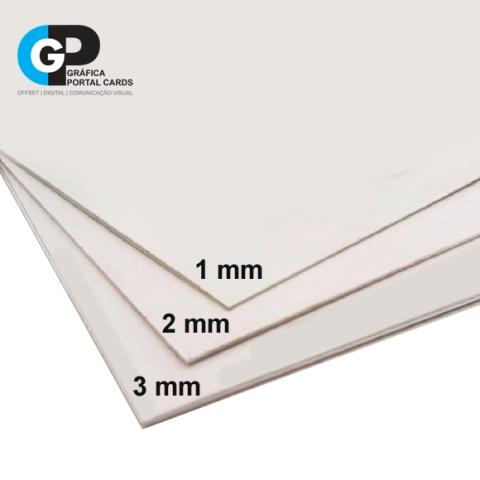 espessuras placas de pvc