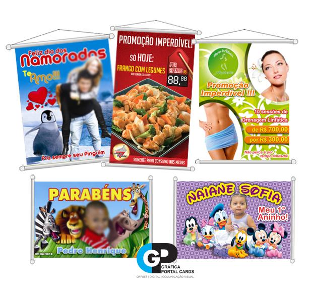 modelos banners impressos comunicacao visual