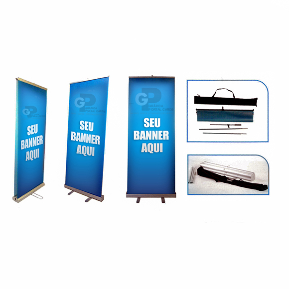 3 porta banner roll up